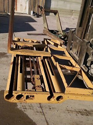 Fork Carriage Assembly For 6k Rough Terrain Military Forklift A69252 Side Shift