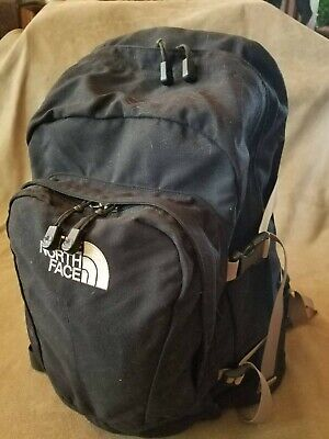 "NORTH FACE Black Backpack, classic look, gently used. 19"" x 13"" x 8"""