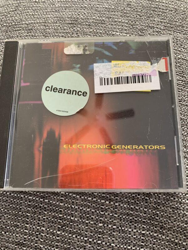 Electronic Generators Cd Damaged Case K-4