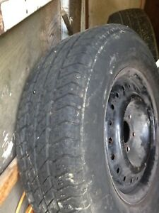 Summer tire and Mag Dodge 15 inch 140$ nego