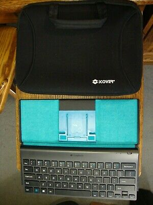 Logitech Bluetooth Universal Keyboard For Tablets w/carry case & FREE SHIPPING