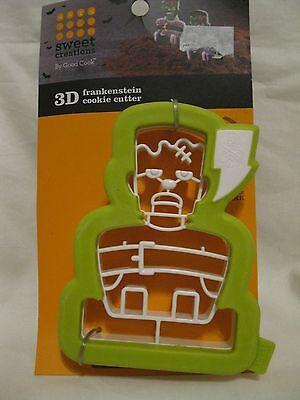 Halloween Dessert Cookies (Good Cook Sweet Creations 3D Frankenstein Cookie Cutter Halloween New)