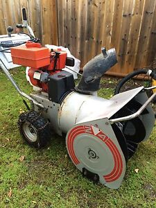 Craftsman 6/24 Dual Stage Electric Start Snowblower!