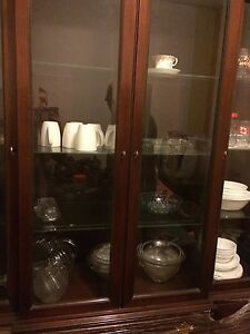 Large REAL WOOD China cabinet