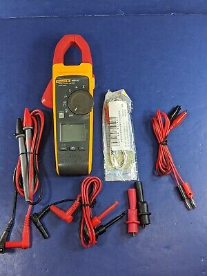 Fluke 902 Fc Hvac Trms Clamp Meter Screen Protector Excellent