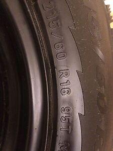 x4 Pirelli 'Ice control' winter tires + winter Steele rims