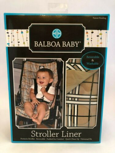 Balboa Baby Stroller Liner NIB sealed Reversible and Washable