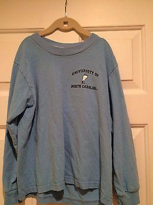 University of NC UNC Tar Heel Blue Long Sleeve T-Shirt - Youth 10 (Tar Heel Blue)