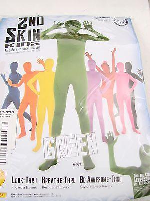 Rubies Kids Green Second Skin Suit Child's Medium  - Second Skin Kids