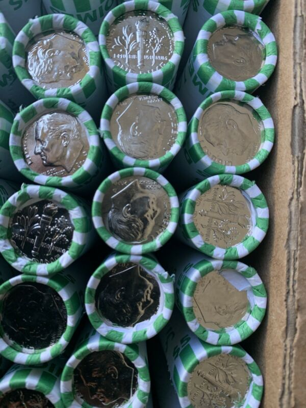 Full ROLL  2020 D Roosevelt Dimes Uncirculated (Free Shipping)