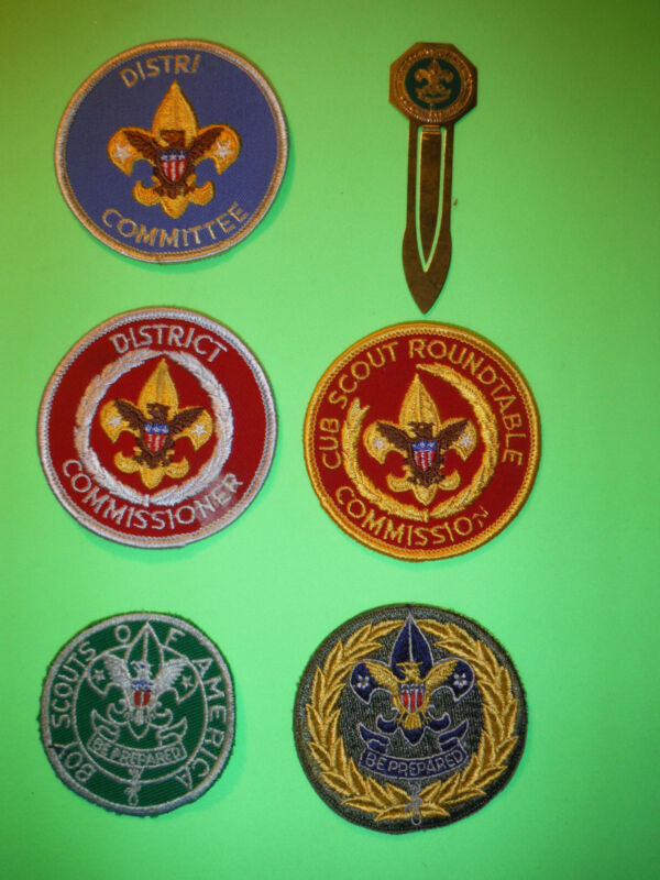 scout commisioner patches