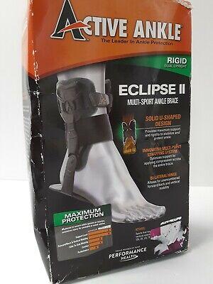 Active Ankle Eclipse II Multi-Sport Rigid Brace For Left / Right Medium