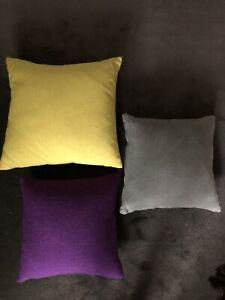 Sofa Pillows Feather Down NEW x 3 items