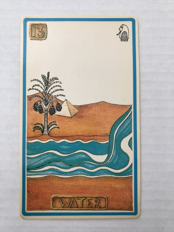 Cartouche Water Card 13 Single Card Only No Box