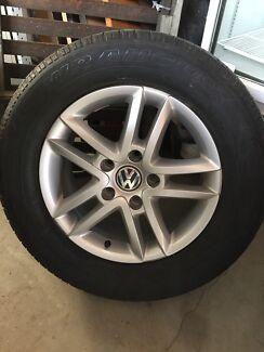 VW Touareg Tyre Wheel Rims x 4