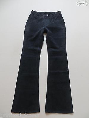 Levi's Jeans Booty Lederhose, W 28 /L 34, RAR ! Denim styled Echt - Leder Hose !