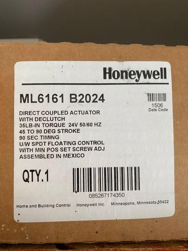 NEW- Honeywell ML6161B2024 Direct Coupled Damper Actuator