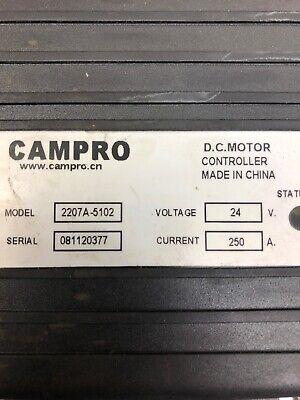 Campro 2207a-5102 Controller For Vestil Or Presto Forklift Walkie Stacker Others
