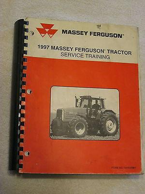 1997 Mf Massey Ferguson Tractor Combine Service Training Manual