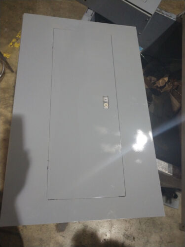 SQUARE D ELECTRIC ENCLOSURE Ser 2 100 amps 120/240 1 phase 3 wire         EE011