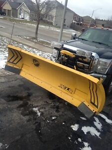 Fisher XLS 8'-10' snow plow