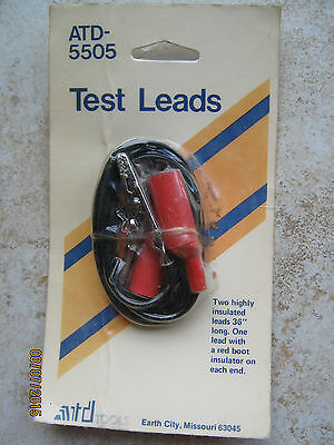 new old stock atd 5505 36 test leads free shipping new for sale in owatonna minnesota. Black Bedroom Furniture Sets. Home Design Ideas