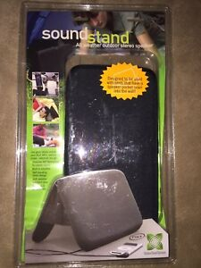 NXT sound stand outdoor speakers