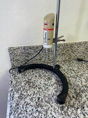 Fisher Powergen 125 Homogenizer Mixer With Stand And Dispersing Element Tool