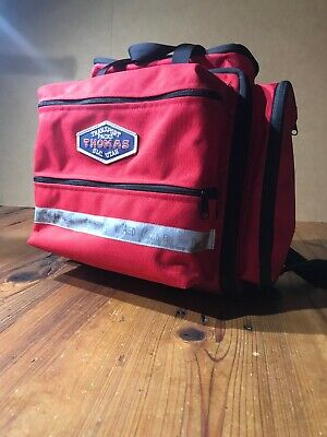 Thomas Transport Pack Aeromed Advanced Ems Bag Emergency First Aid Responder Red