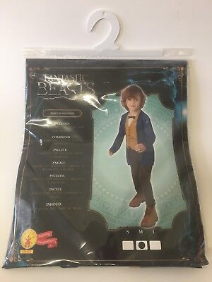 Fantastic Beasts Newt Scams fee Kids Fancy Dress Costume Fast - Fee Kid Kostüm