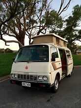 1986 Nissan Urvan Campervan $5,800.00 North Plympton West Torrens Area Preview