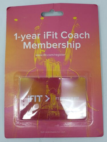 $742 2-year iFit Coach Membership Extended for NordicTrack ProForm family 24 mon