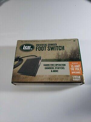 Lem Universal Grinder Foot Switch