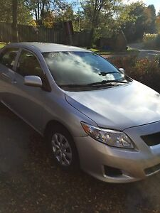 2009 Toyota Corolla power windows