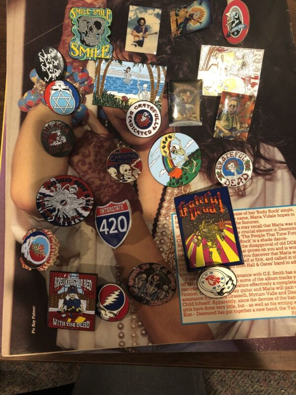 Grateful Dead Pin Collection