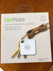 Tile mate- find your keys, phone, anything