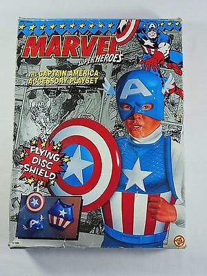 Captain America Accessory Playset MARVEL Super Heroes Toy Biz dress up roleplay](Super Heroes Dress Up)