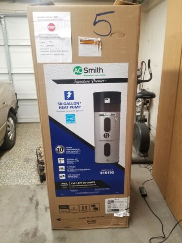 A.O. Smith Signature Premier 50-Gallon Electric Water Heater w/ Hybrid Heat Pump