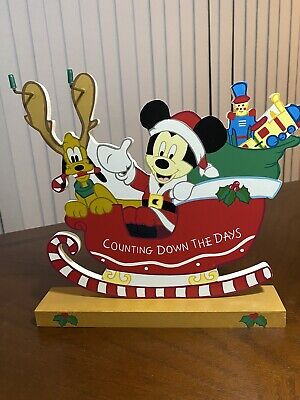 Disney Calendar Mickey Mouse Christmas Countdown Counting Down The Days