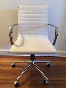 White Eames Replica Office Chair Rushcutters Bay Inner Sydney Preview