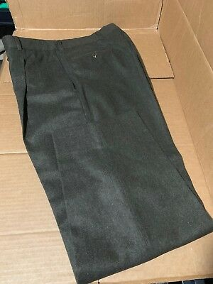 $225! NWT Hugo Boss Olive Green 90% Wool 10% Cashmere Pants 34 Regular - NICE!