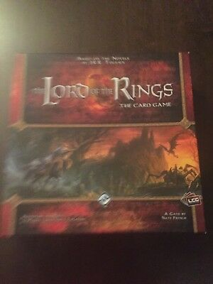 The Lord of the Rings The Card Game LCG Tolkien Fantasy Flight Games Core Set