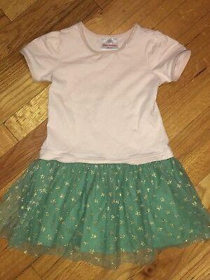 Short Sleeve Tutu - Girls Hanna Andersson Short Sleeve Star Tutu Dress Size 110 5 EUC