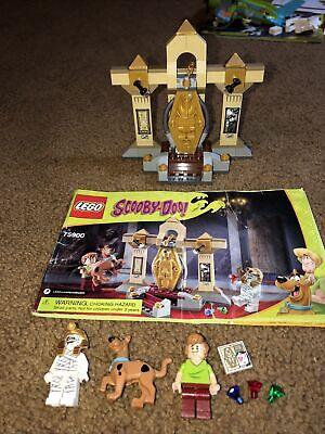 Lego Scooby-Doo 75900 Mummy Museum Mystery Shaggy Scooby complete w/ instruction