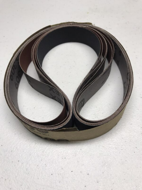 "1"" X 30"" Knife Makers Sanding Belt Set-NEW    Klingspor-6 pc. Assortment"