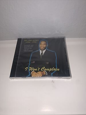 "Rev Paul Jones ""i Wont Complain"" Cd"