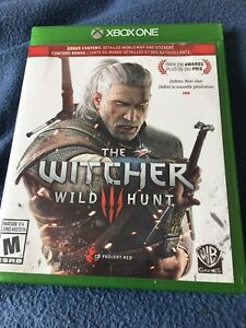 WITCHER 3 XBOX ONE - PERFECT CONDITION