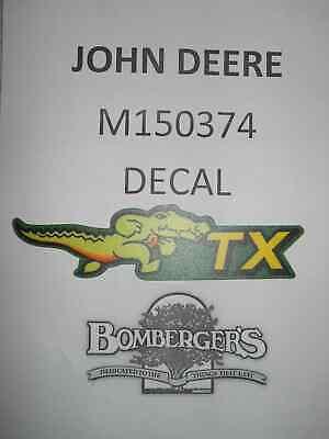 John Deere M150374 Tx Decal - Gator Tx - Serial S Below 050001