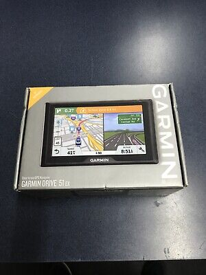"Garmin Drive 51 EX 5"" Screen with Lifetime Maps Easy to Use GPS Navigator"