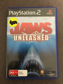 Jaws unleashed PS2 game